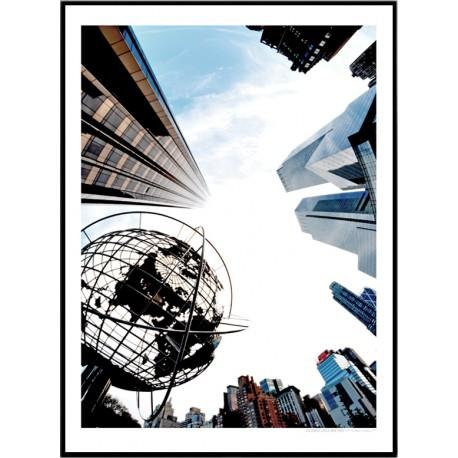 Columbus Circle Poster