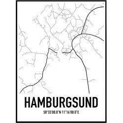 Hamburgsund Karta