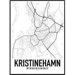 Kristinehamn Karta