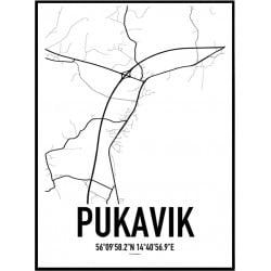 Pukavik Karta Poster