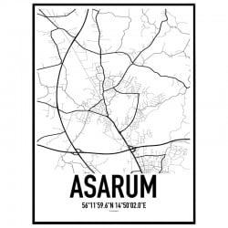 Asarum Karta Poster